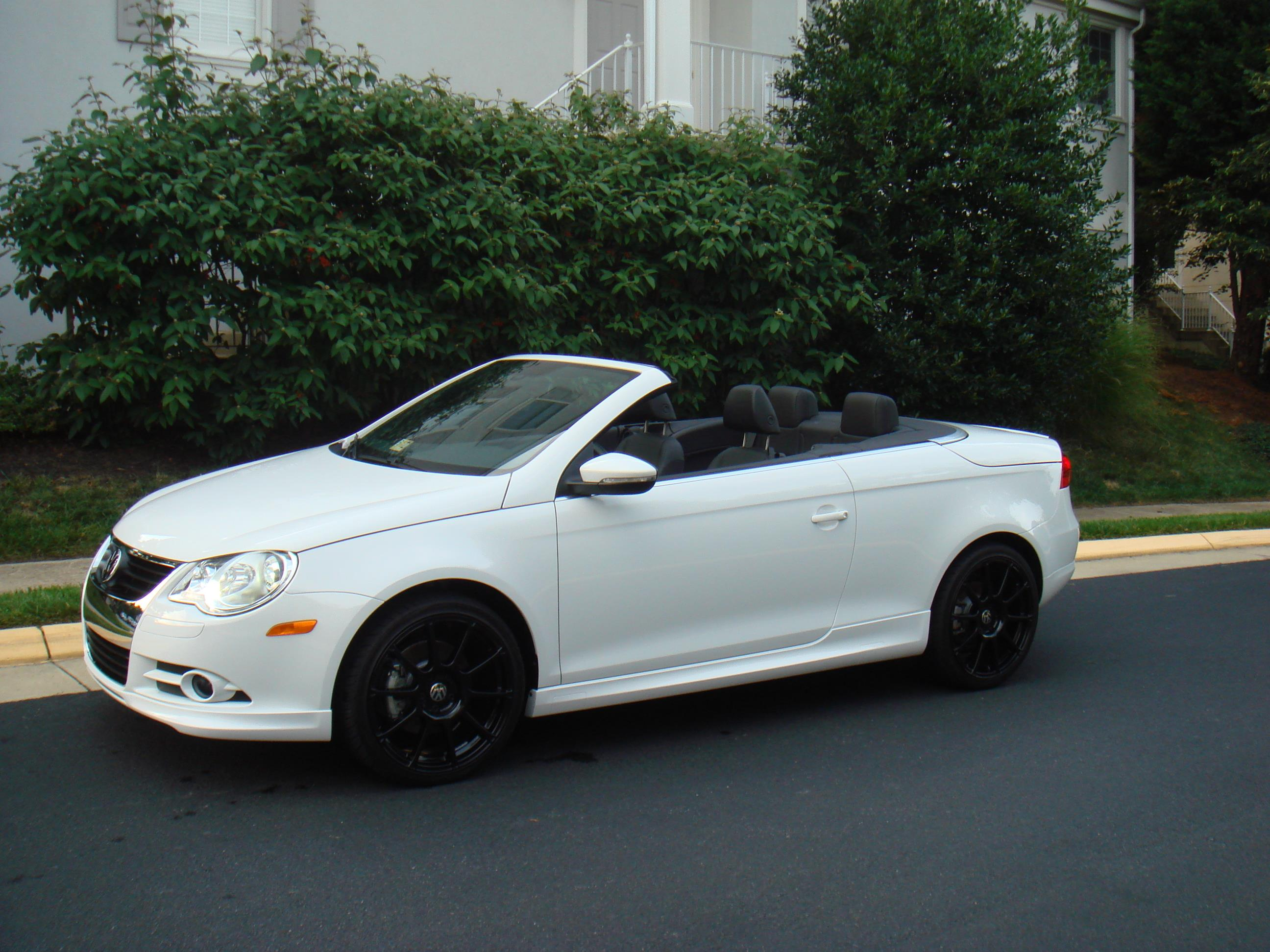 2011 Volkswagen Eos Side Skirts Silver Additional Blue