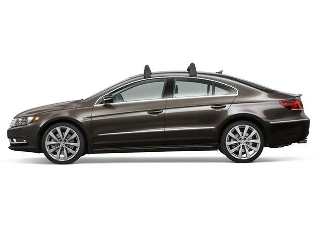 2016 Volkswagen Cc Base Carrier Bars Silver Attachment