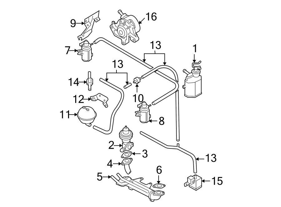 2005 Volkswagen Jetta Wagon Power Brake Booster Vacuum ...
