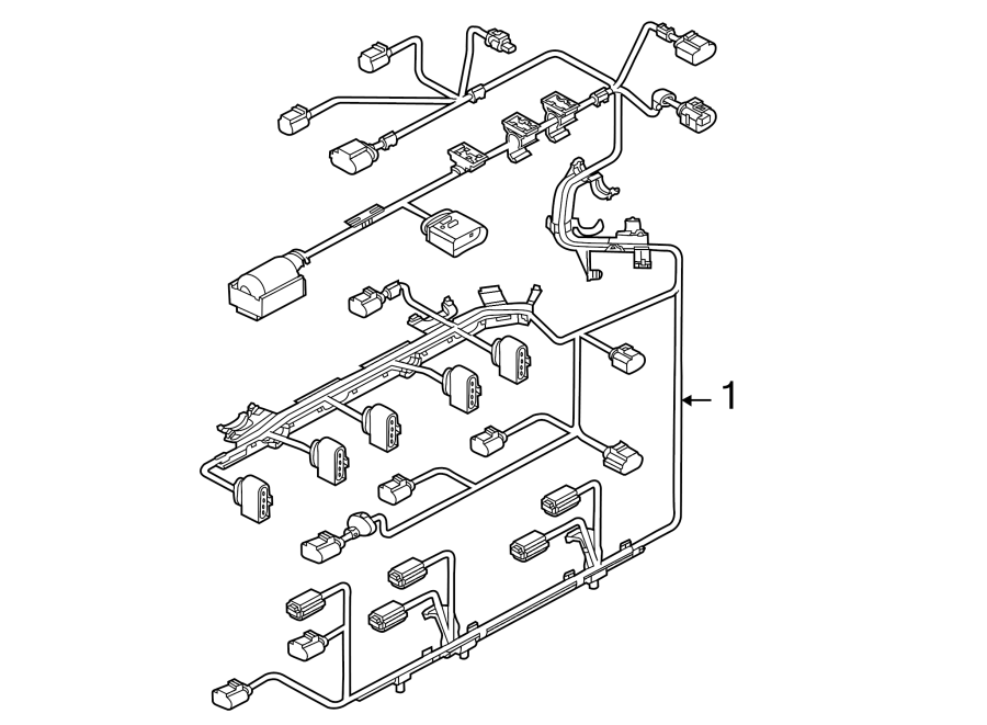 2013 volkswagen beetle engine harness  engine wiring