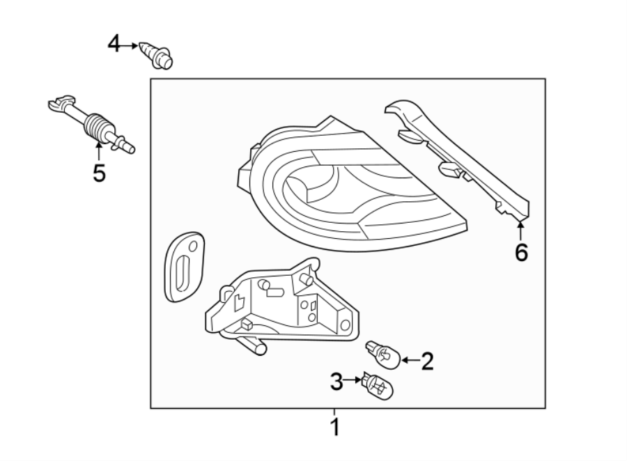 2018 volkswagen beetle adjust bracket  adjuster