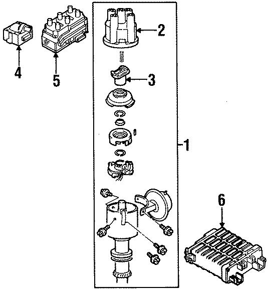 1996 volkswagen passat contour unit  ecm  engine control