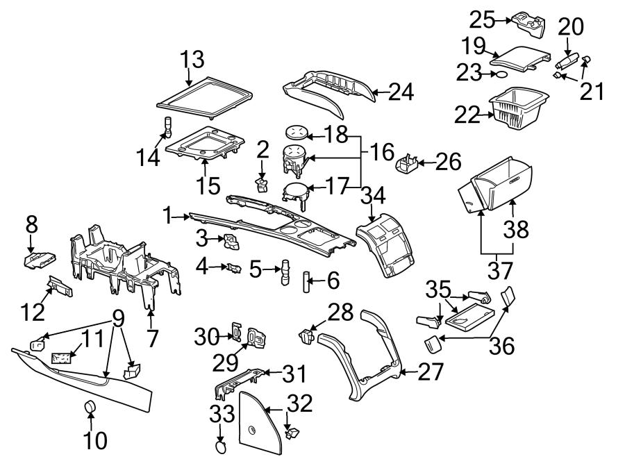 2004 volkswagen phaeton console trim panel  body  u0026 components  w  o rear console  w  wood inlay