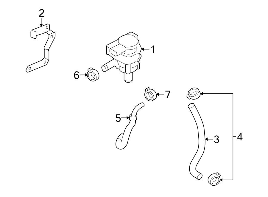 2014 volkswagen cc engine auxiliary water pump