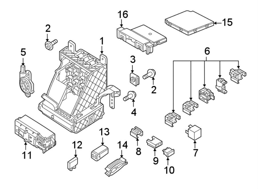 2016 Volkswagen Jetta Gli Circuit Breaker  Main Fuse  Maxi