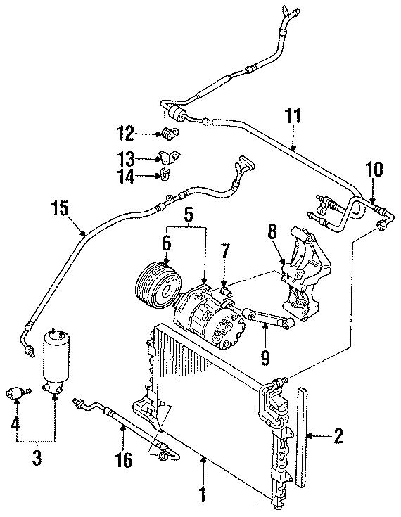 1996 Volkswagen Jetta  4 Cylinder  Lower  Bushing