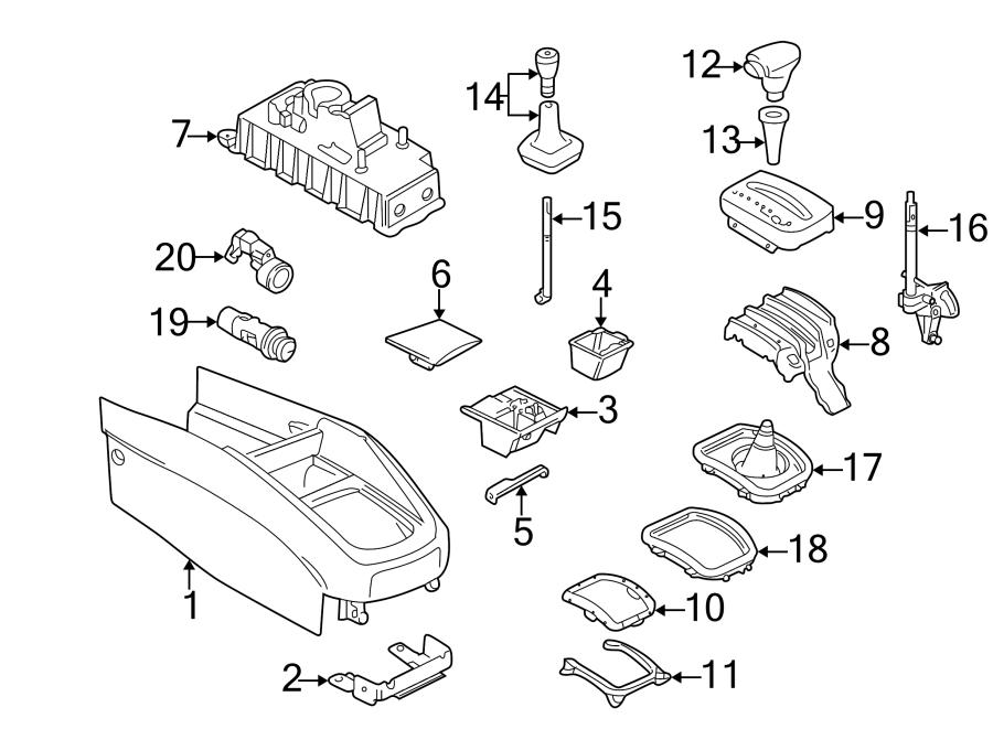 2002 Volkswagen Jetta Manual Transmission Shift Lever