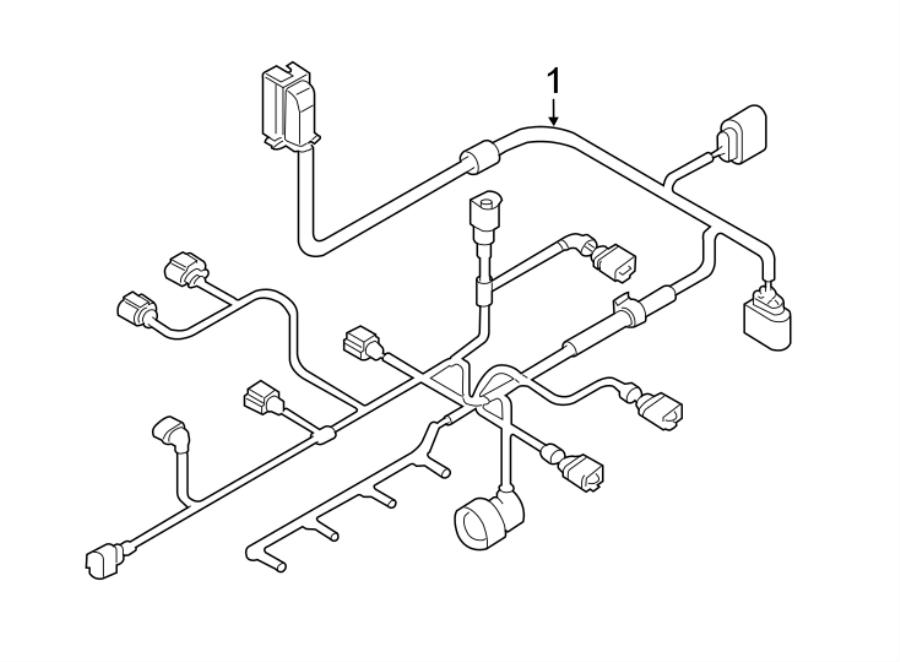 2010 volkswagen jetta engine harness  engine wiring