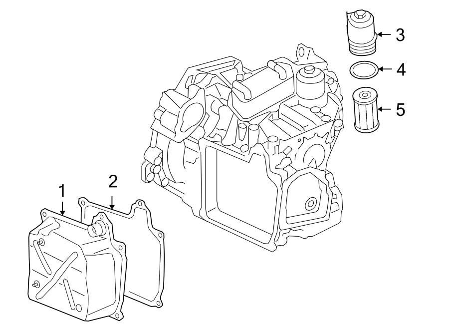 2009 Volkswagen Jetta Gli Transmission Filter Housing  Audi  Volkswagen  Liter  Gas  Diesel