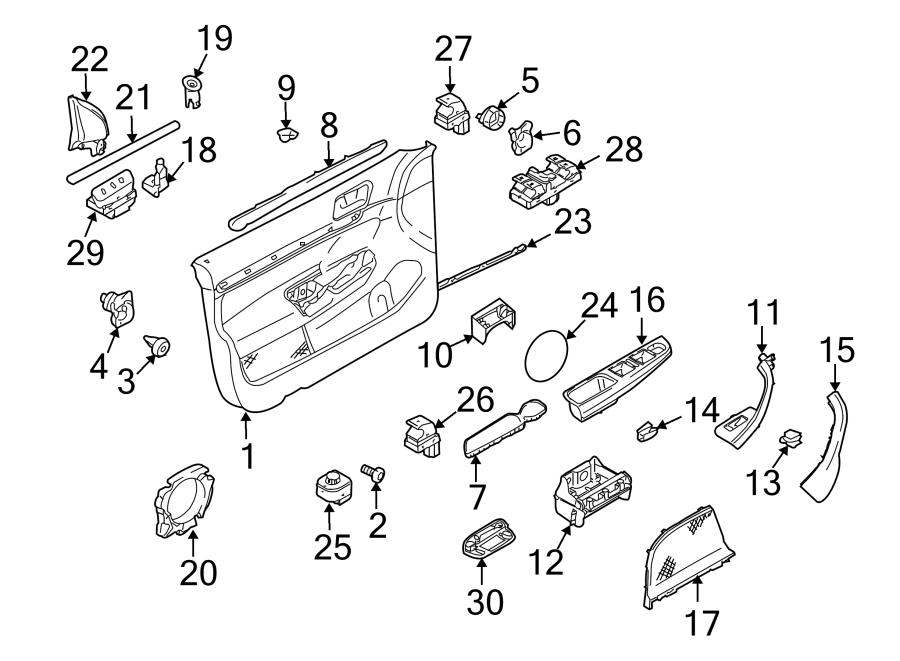 2013 Volkswagen Sportwagen Switch  Release  Gate  Trunk