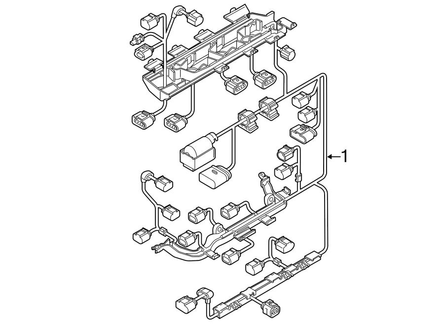 2015 volkswagen jetta hybrid engine harness  engine wiring