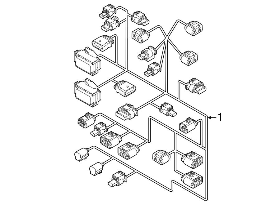 2017 volkswagen jetta engine harness  engine wiring
