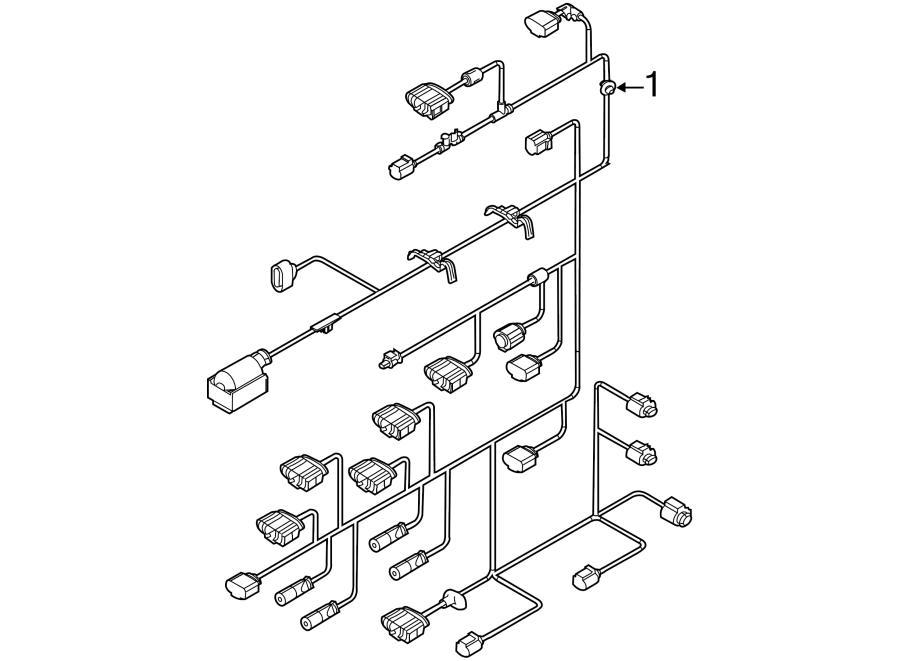2014 Volkswagen Jetta Engine Harness  Engine Wiring