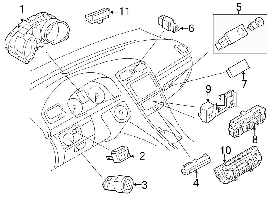 2013 volkswagen jetta gli ambient light sensor  jetta hybrid  sedan  to 09  2012  to 09  2012