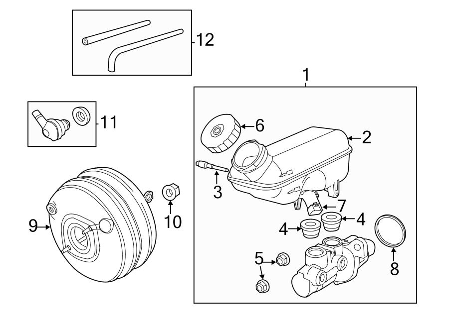 2010 volkswagen routan brake vacuum hose liter. Black Bedroom Furniture Sets. Home Design Ideas