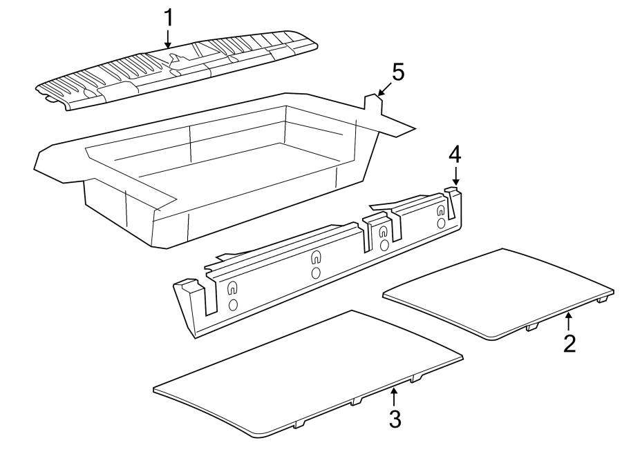 2010 volkswagen routan floor carpet gray cover body. Black Bedroom Furniture Sets. Home Design Ideas