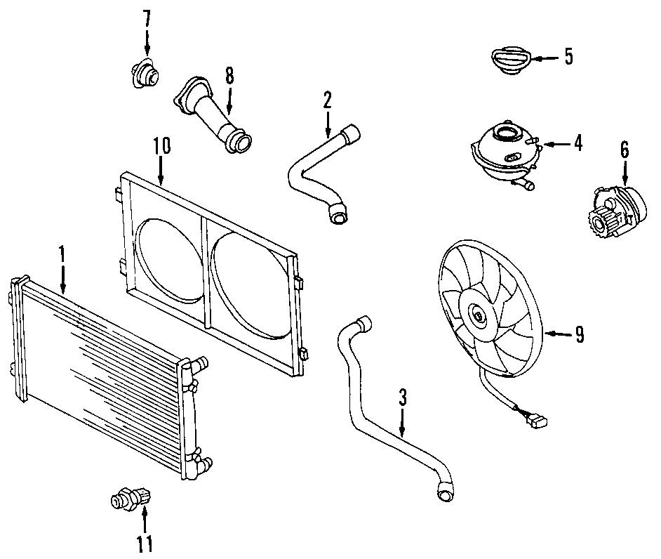 28 2001 Vw Beetle Cooling System Diagram
