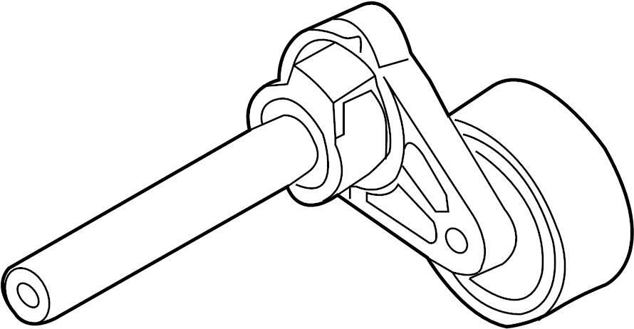 2009 volkswagen eos belt tensioner  serpentine tensioner
