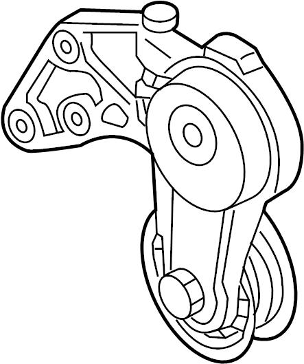 2004 volkswagen touareg serpentine belt