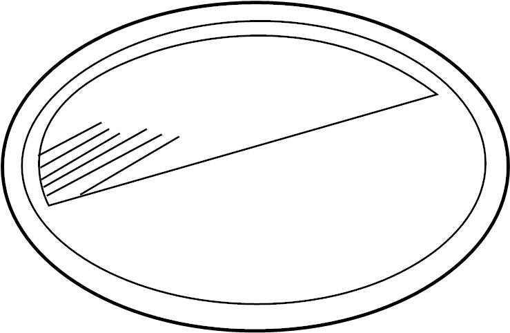 2003 volkswagen beetle lens  u0026 housing retainer  retainer