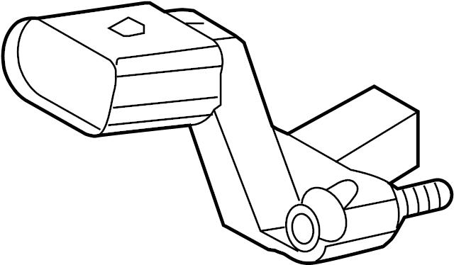 2015 volkswagen beetle crankshaft sensor  engine crankshaft position sensor  sender