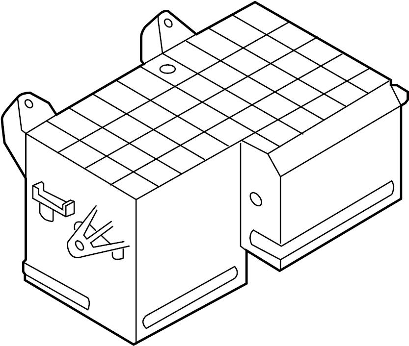 2005 volkswagen phaeton fuse box  front fuse box   2