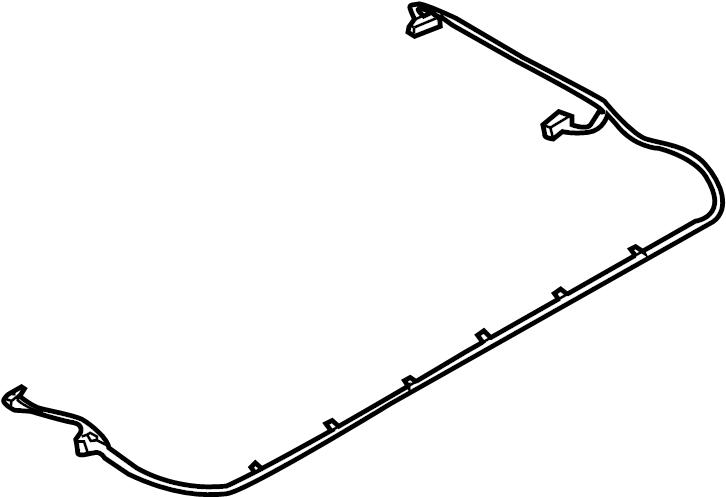 2005 Volkswagen Phaeton Sunroof Wiring Harness  Wire