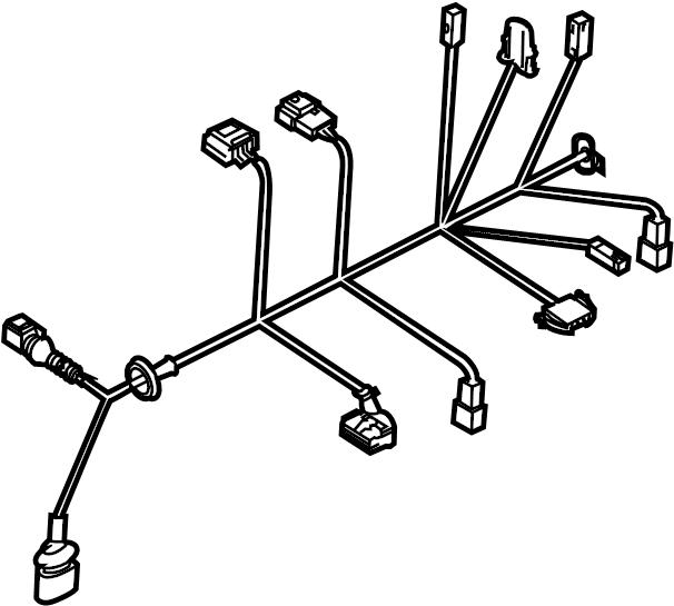 Power Lock Wire Harness