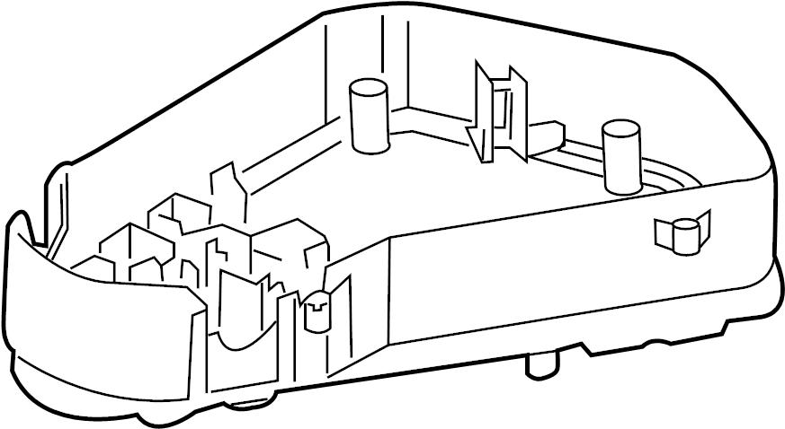2017 volkswagen touareg fuse box  compartment  engine