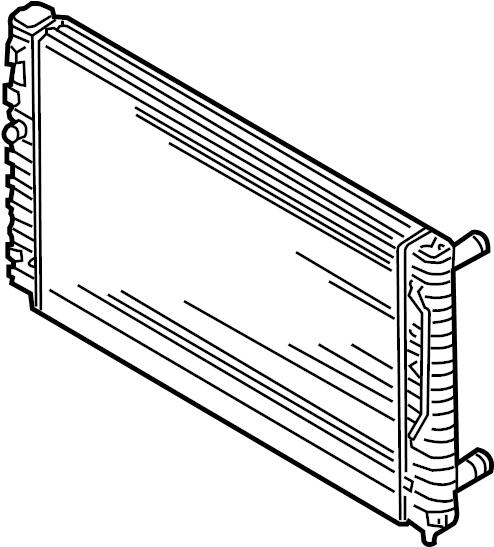 2003 volkswagen passat wagon radiator  cooling