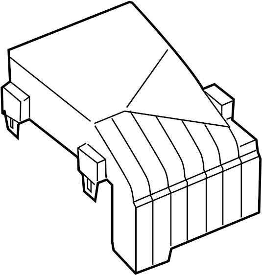 2006 volkswagen jetta fuse box cover  amp  engine  compartment
