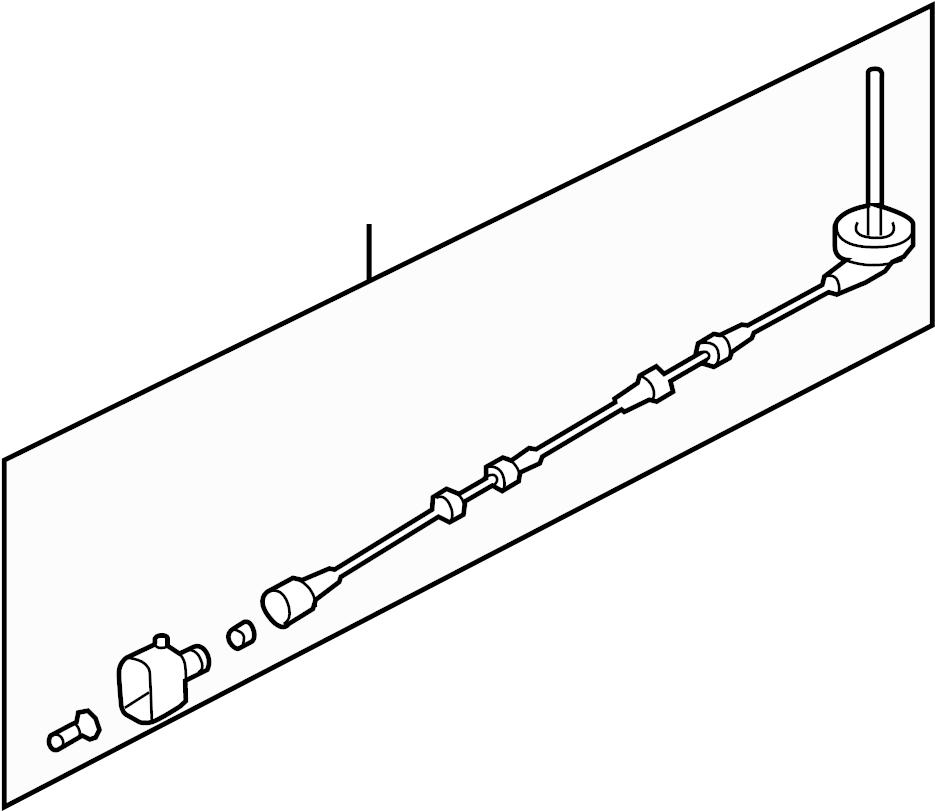 2008 Volkswagen Passat Abs Wheel Speed Sensor Wiring