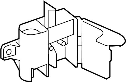 2014 Volkswagen Passat Junction Block  Engine Compartment