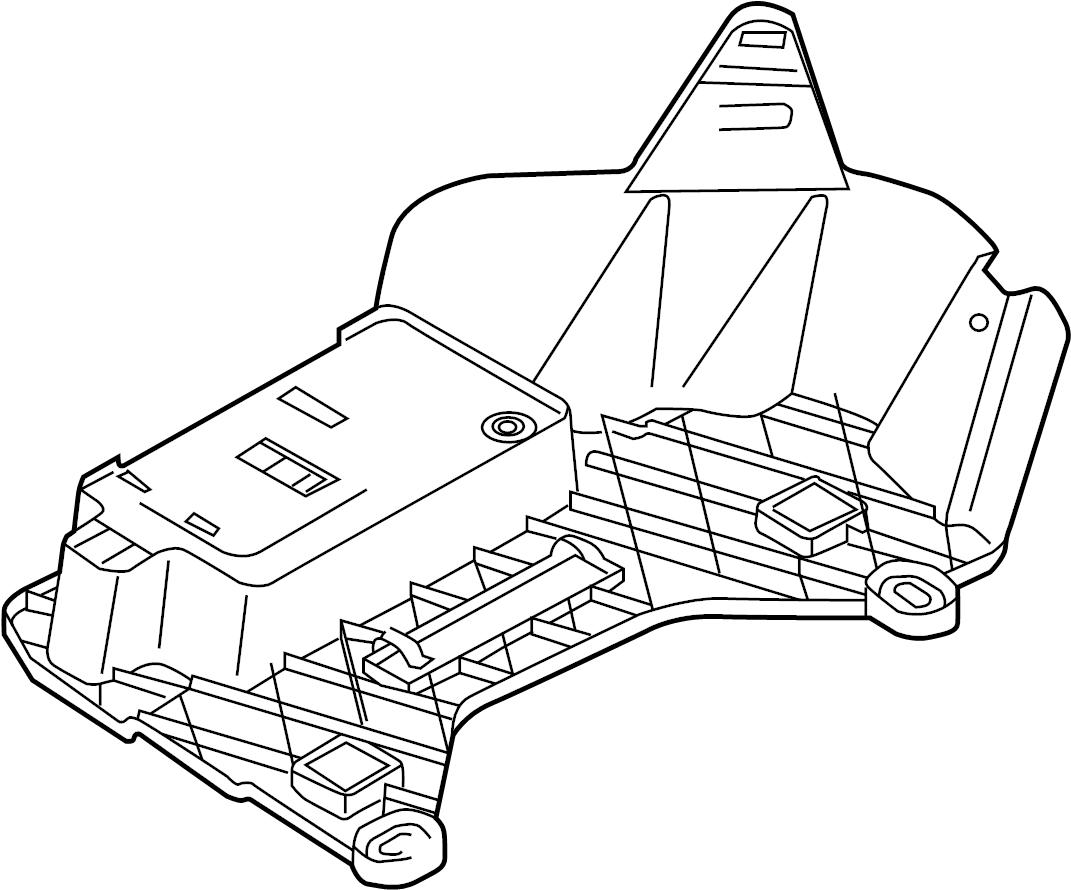 2016 volkswagen eos bracket module control anti theft. Black Bedroom Furniture Sets. Home Design Ideas