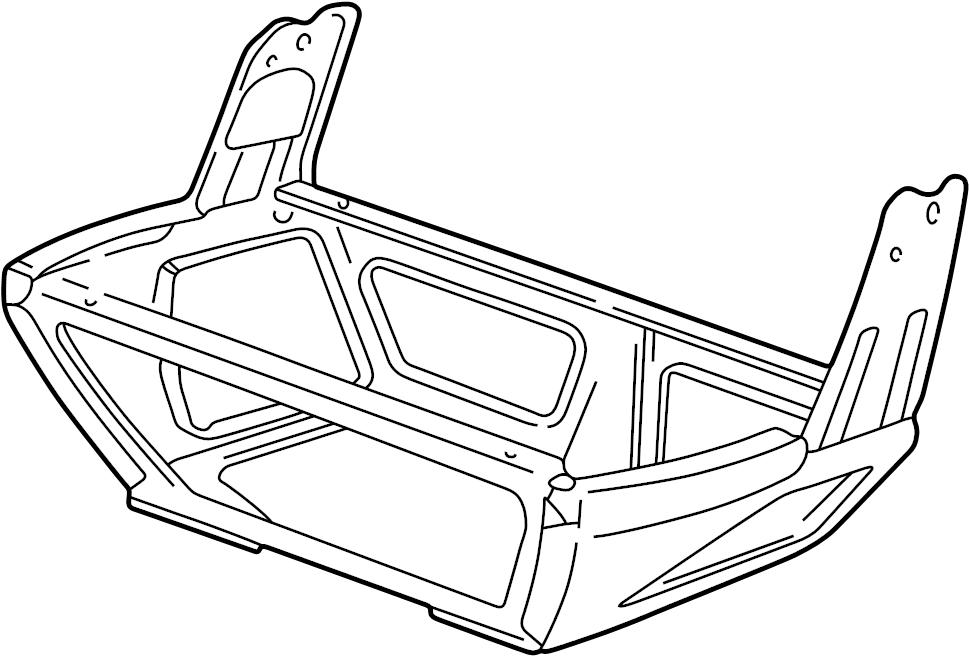2002 volkswagen eurovan seat base  seat frame bracket