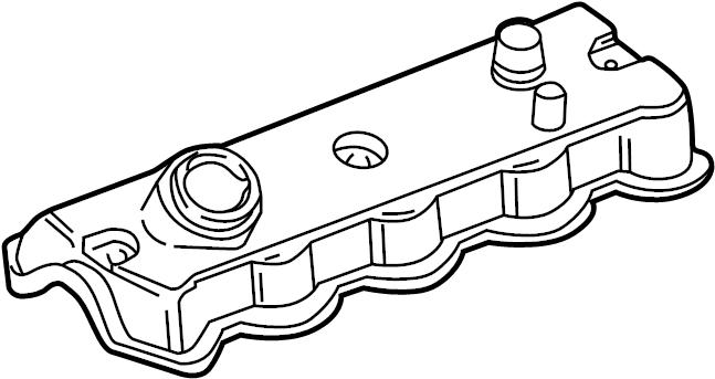 2001 volkswagen beetle engine valve cover  1 9 liter 1998