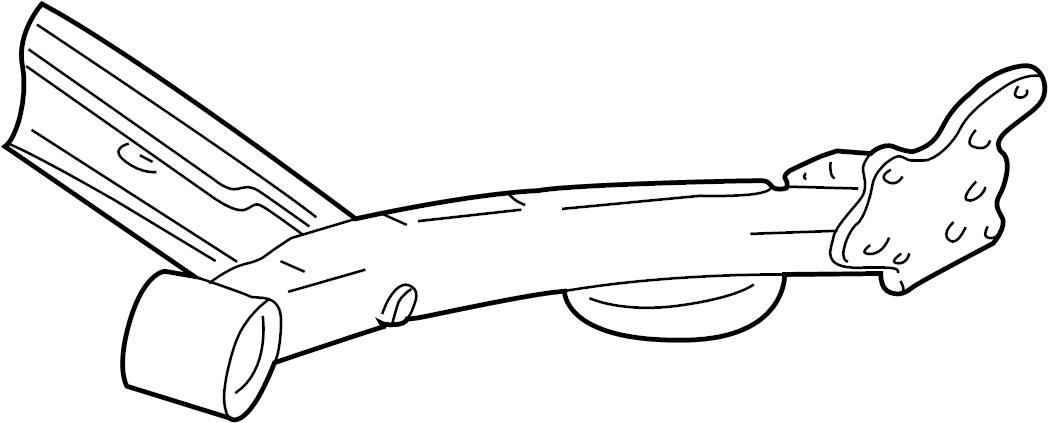 1999 volkswagen jetta axle assy  crossmember  suspension