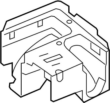 2010 volkswagen eos fuse and relay center bracket fuse. Black Bedroom Furniture Sets. Home Design Ideas