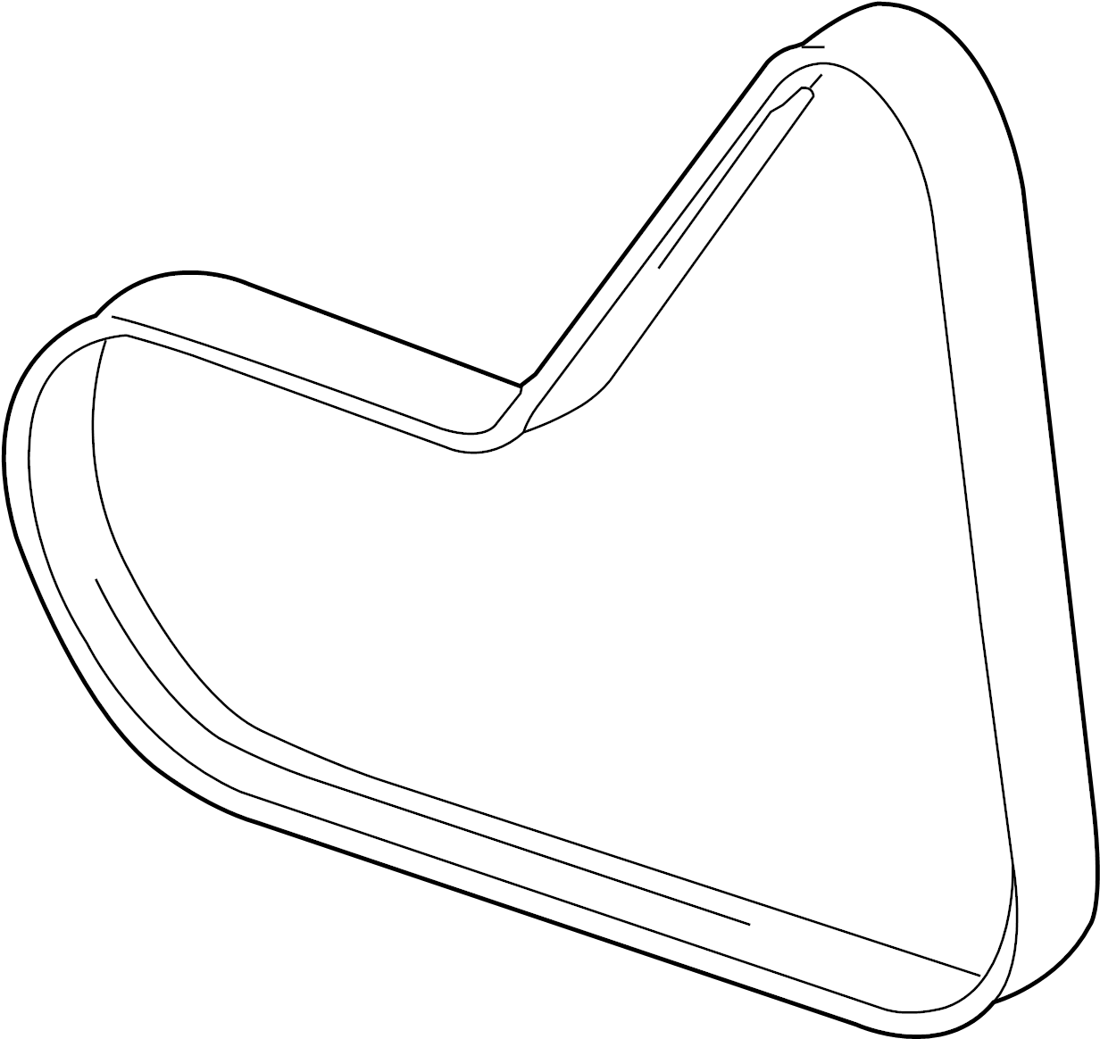 2010 volkswagen jetta ribbedbelt  serpentine belt  liter  diesel  belts