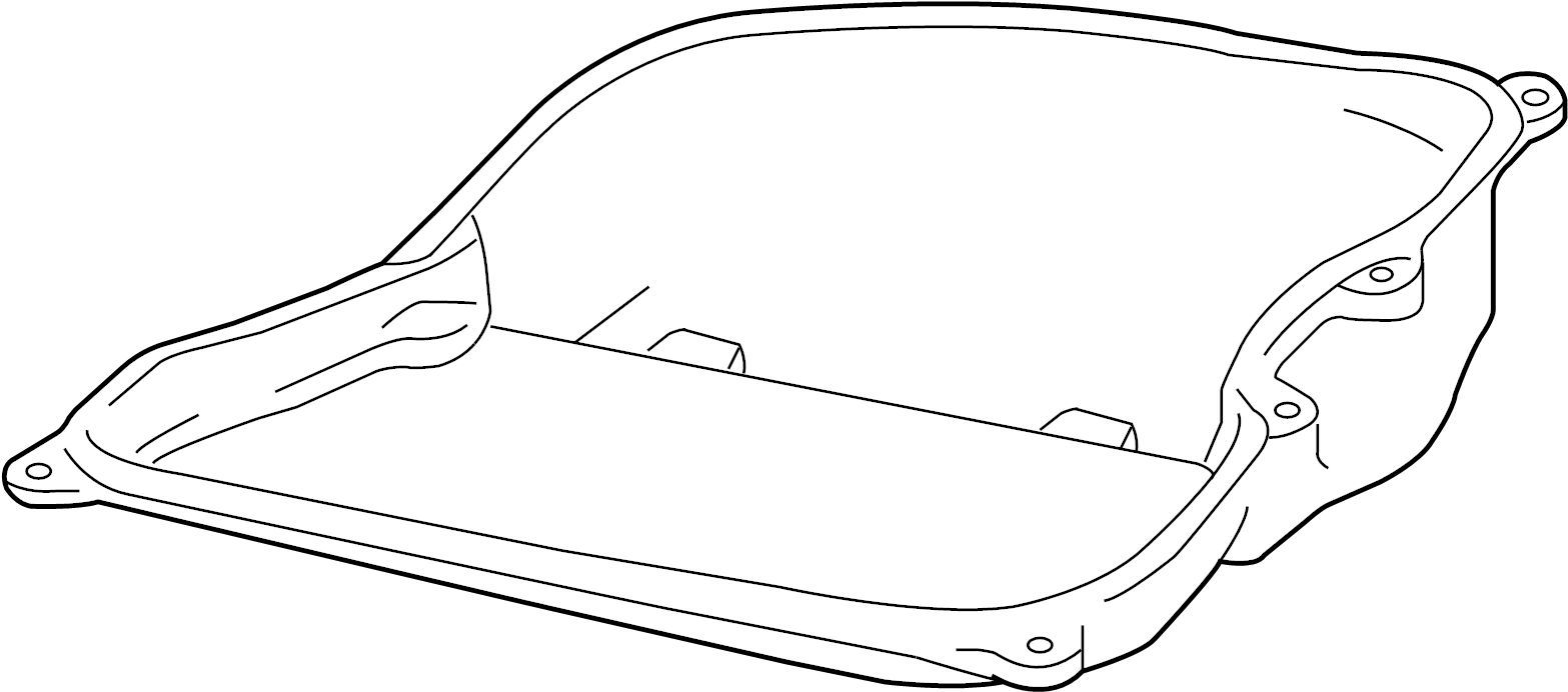 2009 Volkswagen Jetta Wagon Automatic Transmission Oil Pan