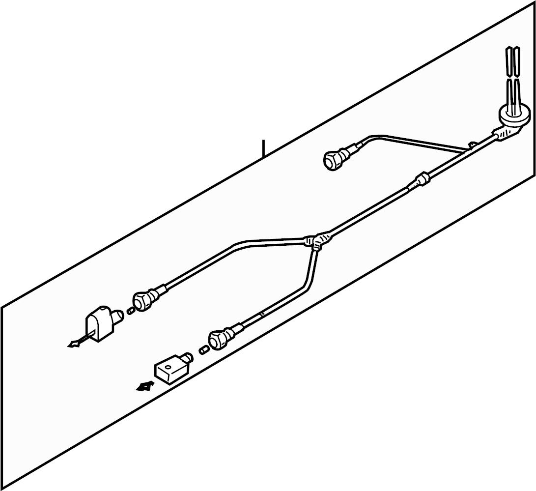 2007 volkswagen rabbit abs wheel speed sensor wiring