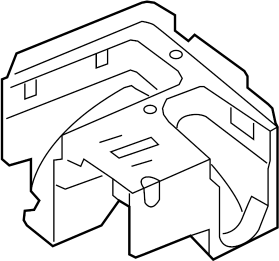 2013 volkswagen golf r fuse and relay center bracket  fuse