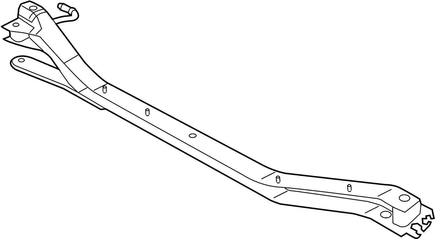 2013 volkswagen jetta suspension subframe crossmember  upper   mutilink  brakes  drum