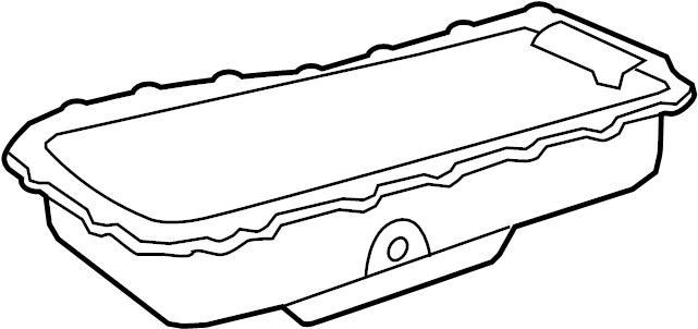 2010 volkswagen routan oil pan oil sump 3 8 liter. Black Bedroom Furniture Sets. Home Design Ideas
