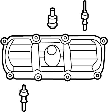 2009 Volkswagen Routan Engine Valve Cover Valve cover