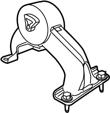 2009 volkswagen routan automatic transmission mount. Black Bedroom Furniture Sets. Home Design Ideas