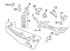 1999 volkswagen cabrio rubb mount trans manual right 1h0199262b autobarn vw parts. Black Bedroom Furniture Sets. Home Design Ideas