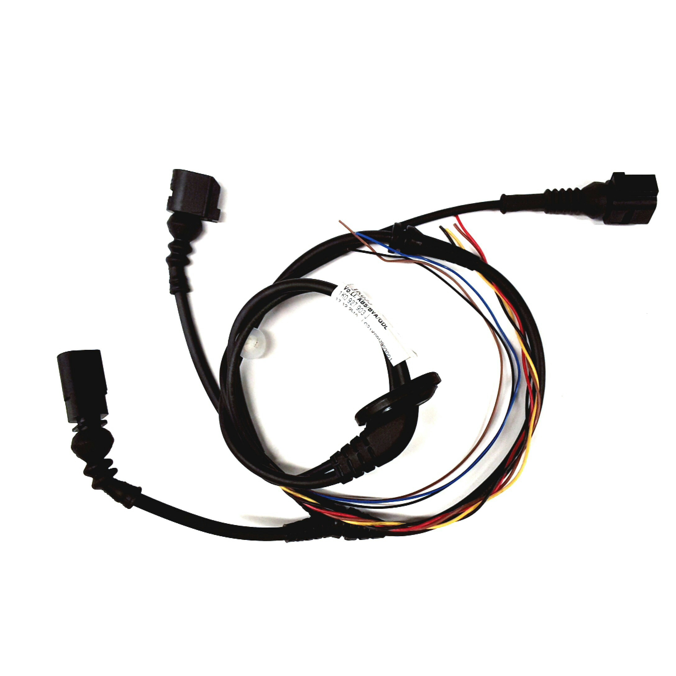 2006 Vw Jetta Door Wiring Harness Part Number : Volkswagen jetta gli abs sensor wire harness audi