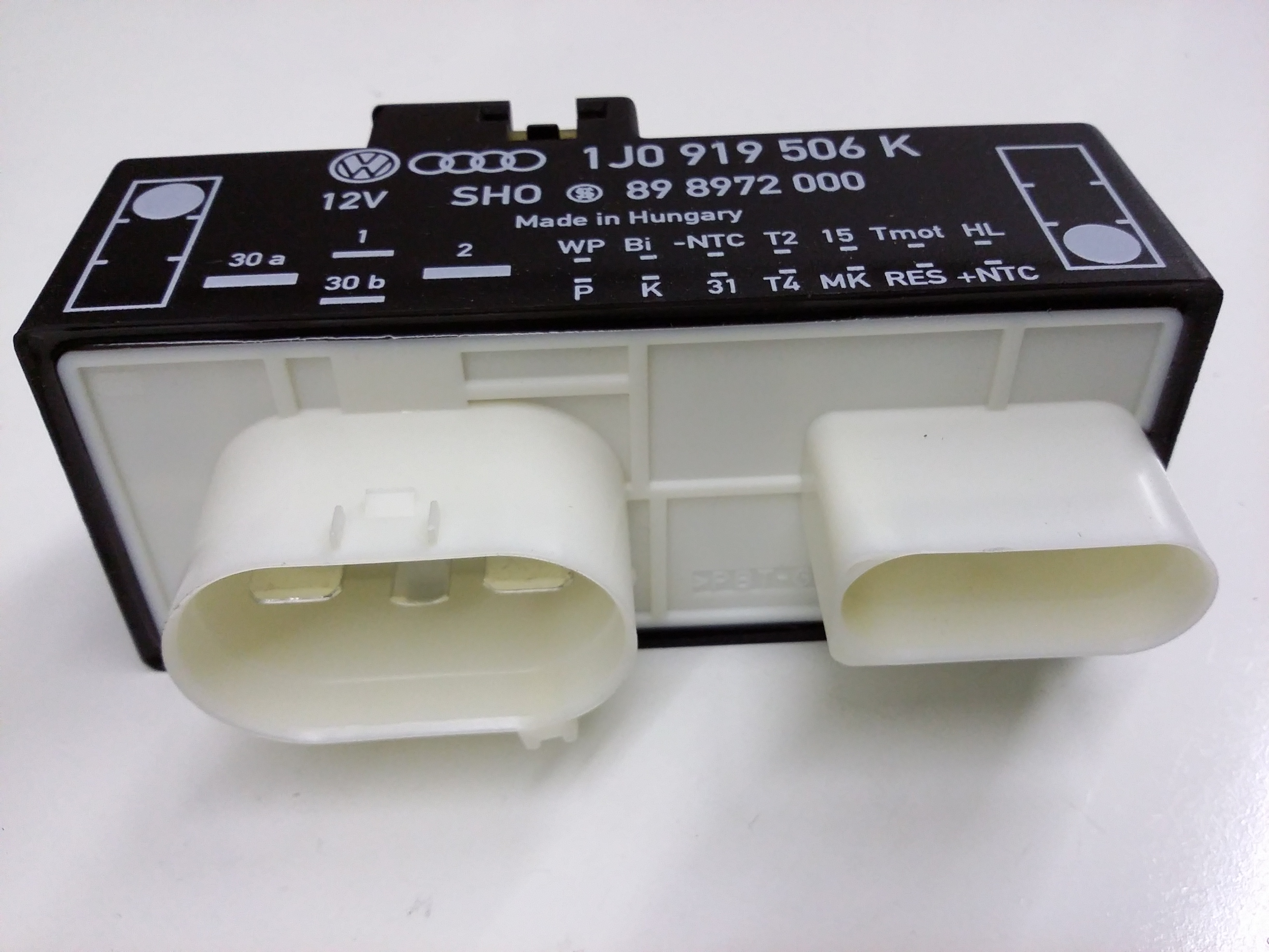GTI Control module. Engine Cooling Fan Controller. Part # 1J0919506K #74704E
